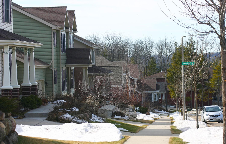 Houses on Moonlight Trail