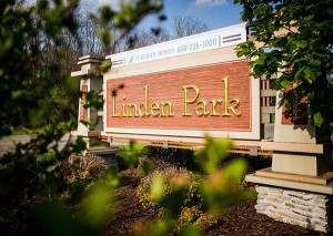 Linden Park Neighborhood Sign