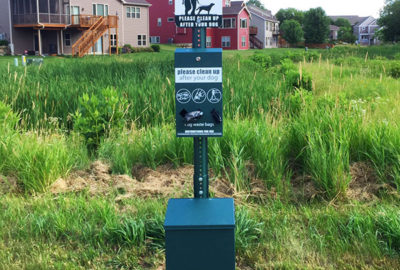 LPNA Pet Waste Station